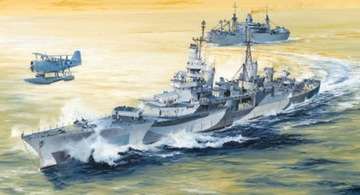 Krążownik USS Indianapolis CA-35 Trumpeter 05327 доставка товаров из Польши и Allegro на русском