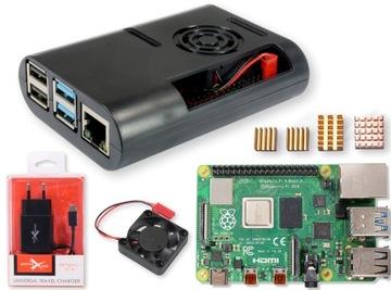 Raspberry Pi 4 4 гб в комплекте корпус, блок питания+советы доставка товаров из Польши и Allegro на русском