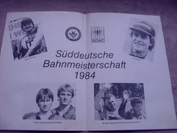 1984 Результаты чемпионата по треку - Южная Германия доставка товаров из Польши и Allegro на русском