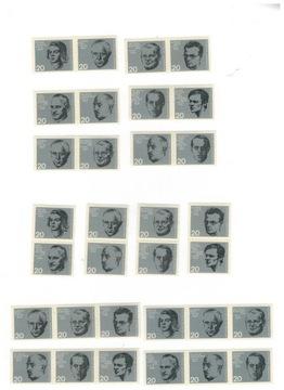 Германия 1964 Марки 431-8 ** Гитлеровский переворот k  доставка товаров из Польши и Allegro на русском