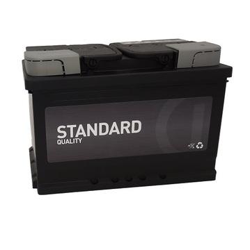 Аккумулятор Standard Quality 12V 74Ah 680A доставка товаров из Польши и Allegro на русском