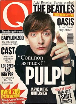 Q Magazine kwiecien 1996 Pulp The Beatles Oasis доставка товаров из Польши и Allegro на русском