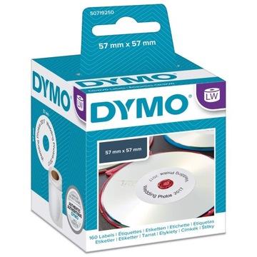 Этикетки для КОМПАКТ-дисков, DVD DYMO S0719250 57 мм доставка товаров из Польши и Allegro на русском