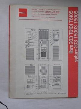ODBIORNIK TELEWIZYJNY LIBRA 203 T6101 SATURN 203 доставка товаров из Польши и Allegro на русском