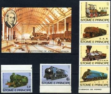 Wyspy Św Tomasza 1982 M 808-13 BL 113 * Lokomotywa доставка товаров из Польши и Allegro на русском