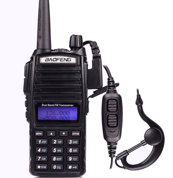 Baofeng UV-82 HT 5W РАДИОСТАНЦИЯ СКАНЕР UHF VHF доставка товаров из Польши и Allegro на русском