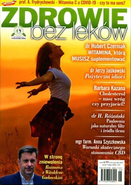 ЗДОРОВЬЕ БЕЗ ЛЕКАРСТВ № 7/20 Холестерин - наш враг доставка товаров из Польши и Allegro на русском