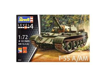 A8113 Модель сборочного танка Т-55А  доставка товаров из Польши и Allegro на русском