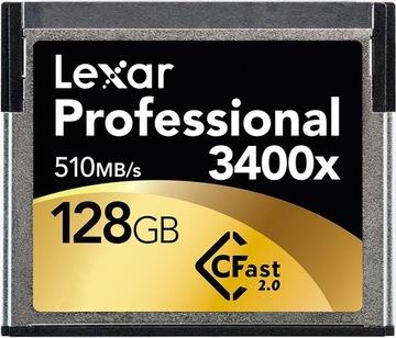 Lexar CF 128GB 3400x (510MB/s) Professional БС доставка товаров из Польши и Allegro на русском