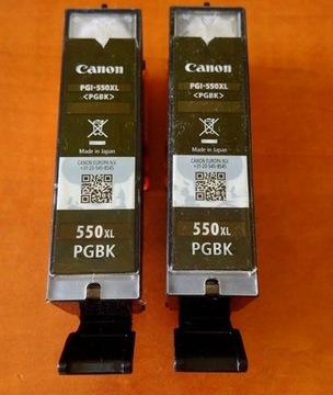 PUSTY TUSZ CANON PGI-550 XL BLACK CZARNY доставка товаров из Польши и Allegro на русском
