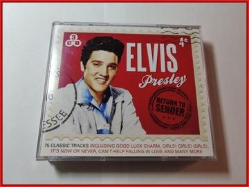 ELVIS PRESLEY: RETURN TO SENDER - 3CD доставка товаров из Польши и Allegro на русском