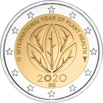 2 евро Бельгия Год Plant Health 2020 доставка товаров из Польши и Allegro на русском