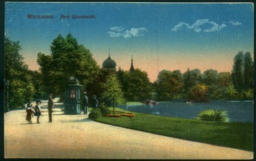 Warszawa Park Ujazdowski Chlebowski Michałows 1910 доставка товаров из Польши и Allegro на русском