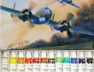 МОДЕЛЬ САМОЛЕТА ДЛЯ СКЛЕИВАНИЯ P-37B LOS + КРАСКИ, КЛЕЙ доставка товаров из Польши и Allegro на русском