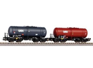 Комплект из 2 цистерн тип 406R GATX H0 1:87 PIKO 58384 доставка товаров из Польши и Allegro на русском