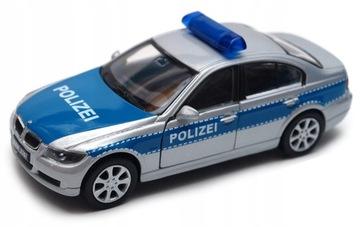 BMW 330i полиция 1:34 - 39 модель WELLY доставка товаров из Польши и Allegro на русском
