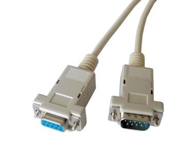 kabel przedłużacz DB9 RS232 COM gniazdo-wtyk 3,0m доставка товаров из Польши и Allegro на русском