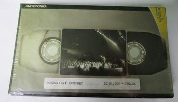 Paktofonika-Прощальный концерт Блюдце КАССЕТА VHS доставка товаров из Польши и Allegro на русском