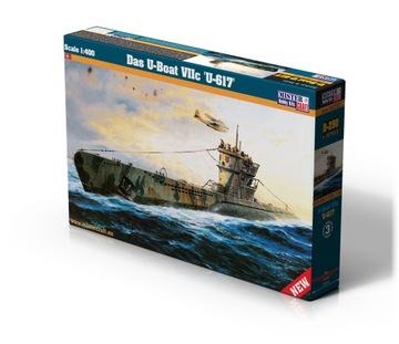 Модель подводной Лодки U-Boot VIIC Клей Халявы доставка товаров из Польши и Allegro на русском