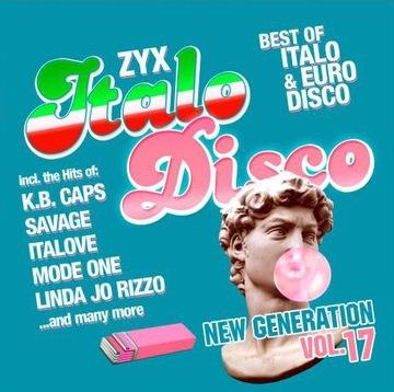 ZYX Italo Disco New Generation Vol. 17 2020 2CD доставка товаров из Польши и Allegro на русском