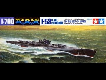 1/700 Модель корабля подводная лодка I58 Late Tamiya 31435 доставка товаров из Польши и Allegro на русском