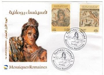 FDC Марки Алжир 2012 археология мозаики доставка товаров из Польши и Allegro на русском