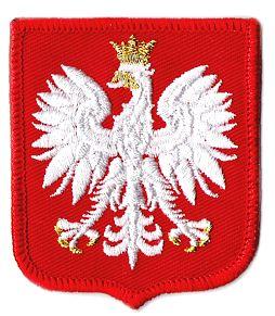 (Герб ПОЛЬШИ на униформе узор MON Полоса 617) доставка товаров из Польши и Allegro на русском