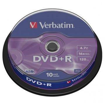 ДИСК VERBATIM DVD+R LO 4,7 GB СКОРОСТЬ 16x, CAKE доставка товаров из Польши и Allegro на русском