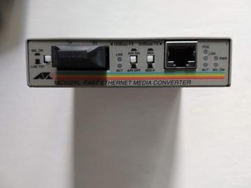 Оптоволоконный конвертер ALLIED TELESIS AT-MC102XL доставка товаров из Польши и Allegro на русском