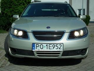 SAAB 9-5 kombi 2007 2.0t benzyna доставка товаров из Польши и Allegro на русском