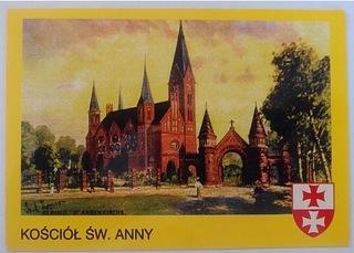 Kartka Elbląg Kościół Św. Anny доставка товаров из Польши и Allegro на русском