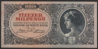 Венгрия 10000 pengo 1946 - серия A012 доставка товаров из Польши и Allegro на русском