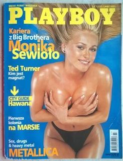 PLAYBOY Monika Sewioło lipiec 2001 доставка товаров из Польши и Allegro на русском