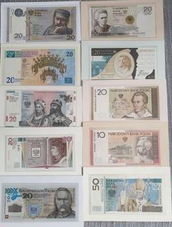 Комплект банкнот коллекционные 2006 - 2018 доставка товаров из Польши и Allegro на русском