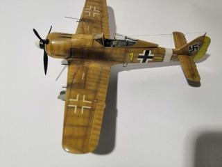 Gotowy model samolotu Fw-190 A-4 w skali 1/48 доставка товаров из Польши и Allegro на русском