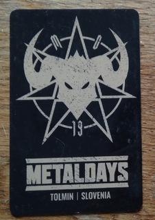 MetalDays Фестивальная Карта Оплаты доставка товаров из Польши и Allegro на русском