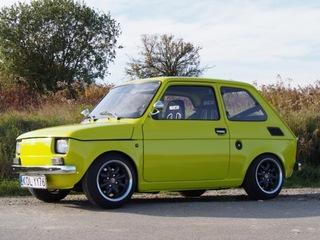 Fiat 126 zbudowany od podstaw z troską o detale. доставка товаров из Польши и Allegro на русском