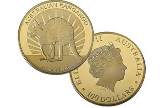MONETA - KANGUR 2011 - 100 dolarów  доставка товаров из Польши и Allegro на русском