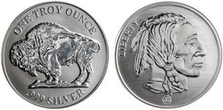 AMERICAN BUFFALO INDIAN 1oz .999 FINE SILVER PROOF доставка товаров из Польши и Allegro на русском