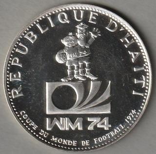 Гаити 50 gourdes 1973 - MS 1974 - Tip Tap - серебро доставка товаров из Польши и Allegro на русском