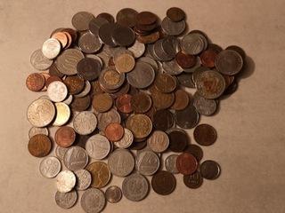 Zestaw ponad 200 szt monet  доставка товаров из Польши и Allegro на русском