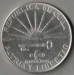 Куба 1 песо 1953 Хосе Марти серебро доставка товаров из Польши и Allegro на русском
