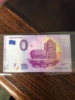 Bmw 3.0 CSL banknot 0 euro limitowany  Wwa nr.285 доставка товаров из Польши и Allegro на русском