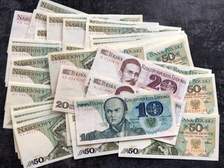 Набор от 10 до 100 PLN, 1982 - 1988, 53 штуки  доставка товаров из Польши и Allegro на русском