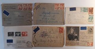 Польская авиационная почта 1946-1952 гг.  доставка товаров из Польши и Allegro на русском