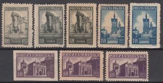 Fi. 377-379 ** Коллекция чистых, gw. + Описание J. Waloch  доставка товаров из Польши и Allegro на русском