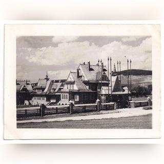 Закопане пансионат фотографию с 1944 года. доставка товаров из Польши и Allegro на русском