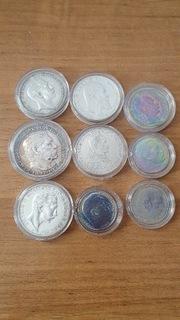 Набор монет Германии 9 шт. Серебро  доставка товаров из Польши и Allegro на русском