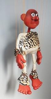 lalka - marionetka jaskiniowiec доставка товаров из Польши и Allegro на русском