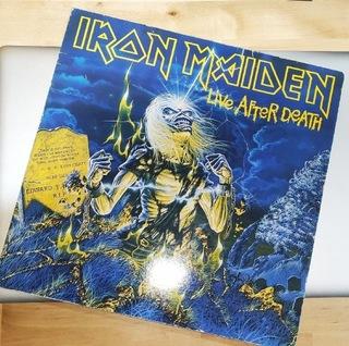 2 LP Iron Maiden - Live After Death (Германия 1985)  доставка товаров из Польши и Allegro на русском